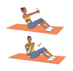 Obtenha uma barriga lisa sem ter de fazer abdominais e sem sair de casa: Shaker abs
