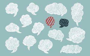 Sentir uma opinião contrária à nossa como um ataque pessoal pode fazer com que não consigamos manter a calma numa discussão