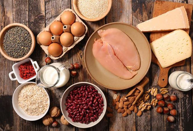 2. Aposte em refeições ricas em proteína