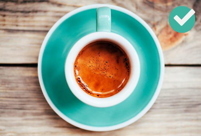 Café e chá verde
