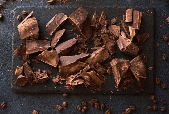 13. Delicie-se com chocolate preto