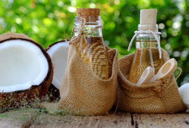 6. Cozinhe com óleo de coco