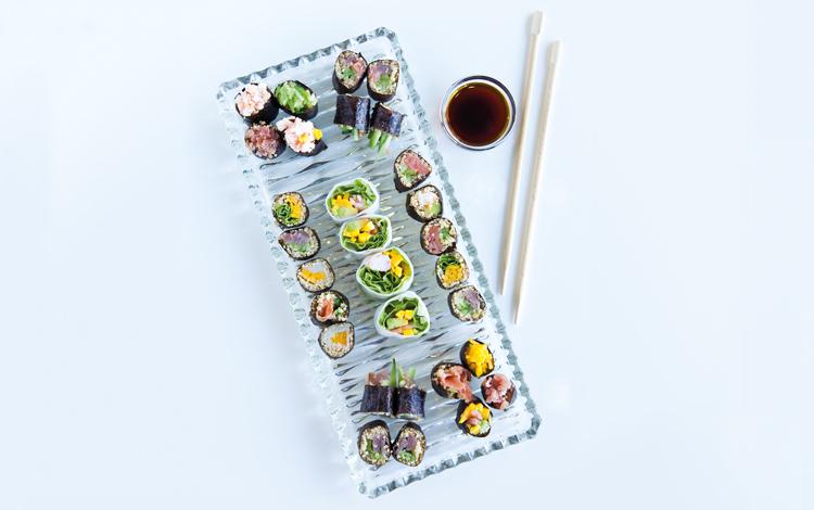 sushi alternativo