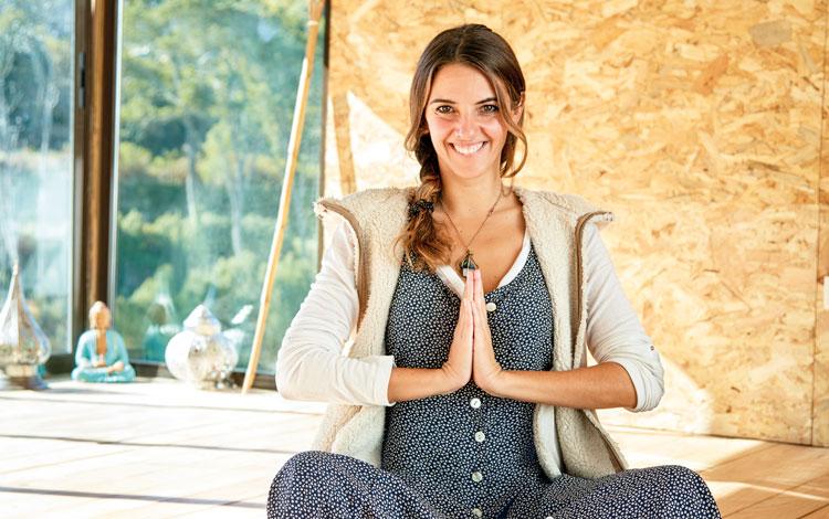 Rute Caldeira: A meditação tornou-me mais saudável e feliz