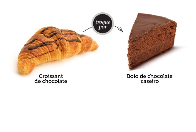 Faça o seu bolo de chocolate