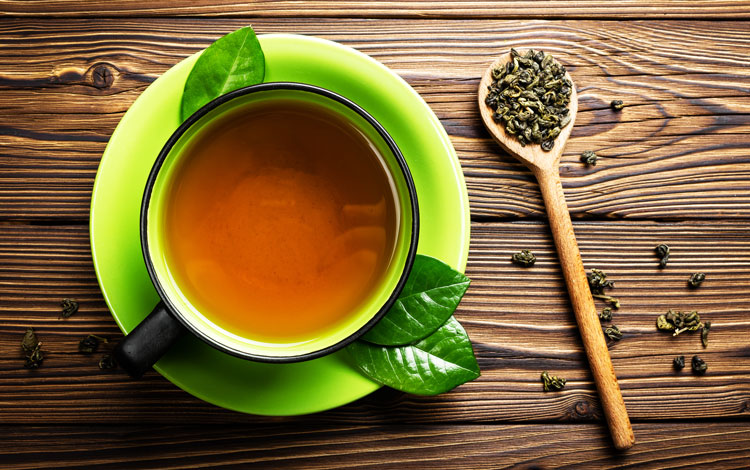 chá verde como aliado na dieta