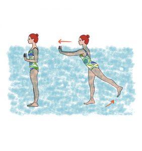 treinar na praia: pontapés à retaguarda