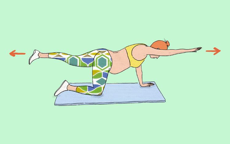 4 exercícios para grávidas
