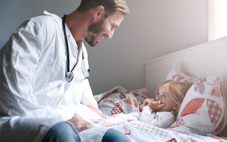 assistencia medica criança