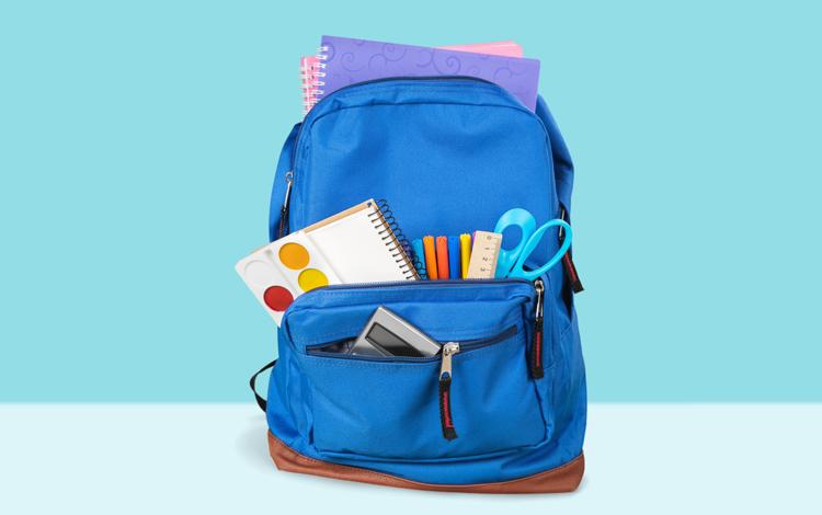 Fique de olho no peso da mochila do seu filho