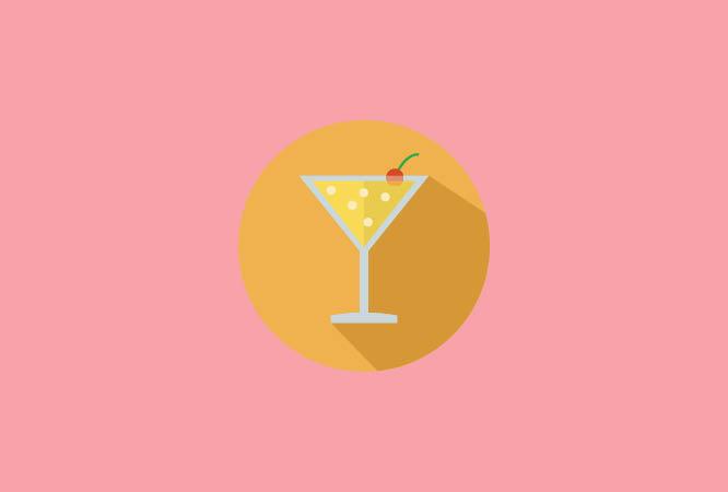 Não consuma bebidas alcoólicas