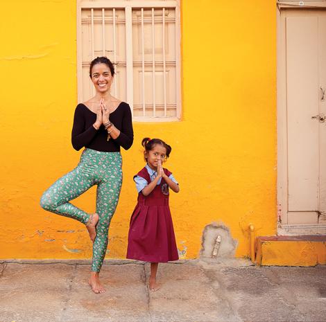 Filipa Veiga: «O yoga mudou a minha vida»