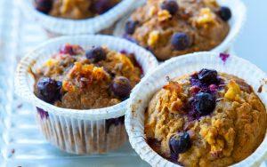 Muffins saudáveis: receita pouco calórica