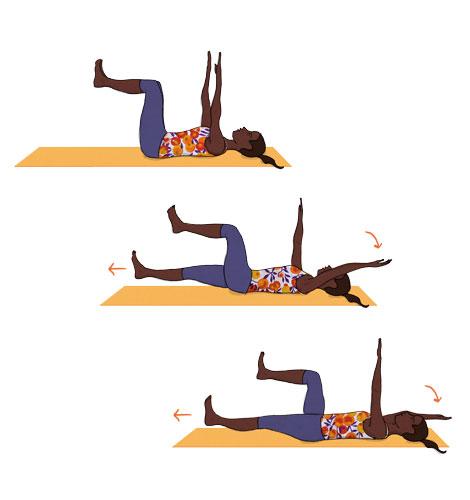 Estabilidade dinâmica em decúbito dorsal